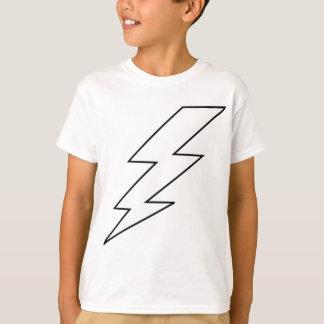 Camiseta rayo