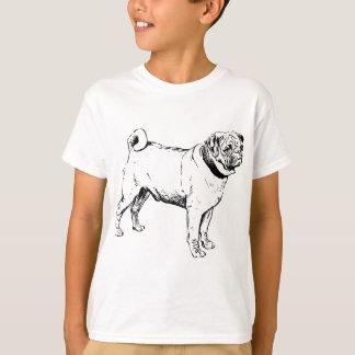Camiseta Raza del perro del barro amasado