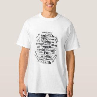 Camiseta Razones del vegano que va