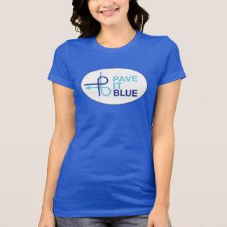 Camiseta real de PaveItBlue