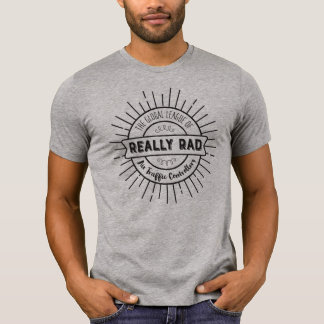 Camiseta Realmente controladores aéreos del Rad - texto