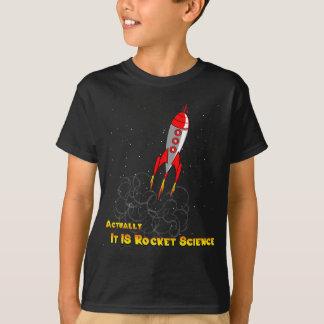 Camiseta Realmente, ES ingeniería espacial