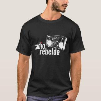 Camiseta Rebelde de radio