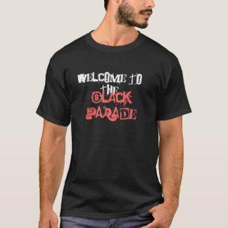 Camiseta Recepción a, desfile negro