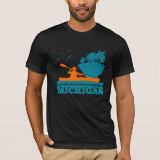 Camiseta Recepción a Michigan (MI) - insignia del color