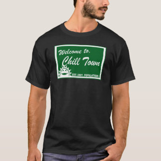 Camiseta Recepción para enfriar la ciudad