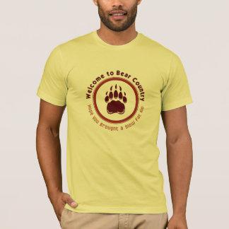 Camiseta Recepción para llevar el país