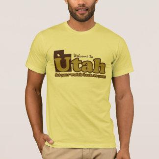 Camiseta Recepción Sr. chistoso de la parodia de Utah a