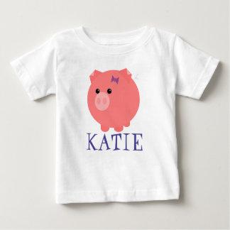 Camiseta rechoncha linda adaptable del niño del