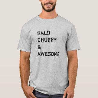 Camiseta Rechoncho e impresionante calvos