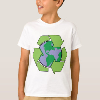 Camiseta Recicle la tierra