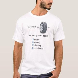Camiseta recientemente jubilada