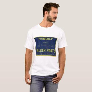 Camiseta Reconstruido con el caminante auténtico parte la
