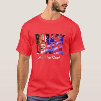 Camiseta Recorte del perfil de Barack Obama 2012 (aún el!)