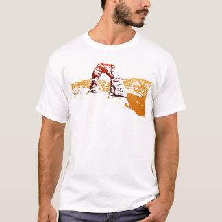 Camiseta Recorte delicado del arco