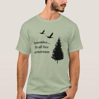 Camiseta Recuerde… Todos vivimos rio abajo