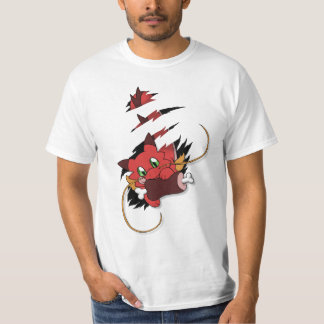 Camiseta Red Dragon eats meat