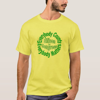 Camiseta Reelija a Keith Ellison para el congreso Minnesota