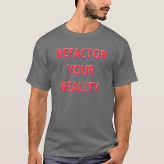 Camiseta Refactor su realidad