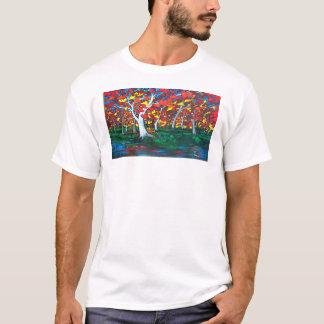 Camiseta Reflexiones del abedul