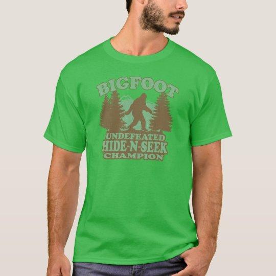 Camiseta Refrán divertido de BIGFOOT (diseño apenado