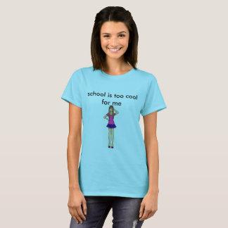 Camiseta refresqúese para la escuela