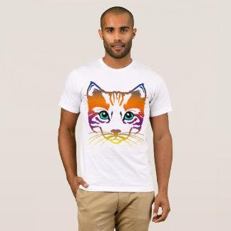 Camiseta Regalo artístico del amante de los gatos del
