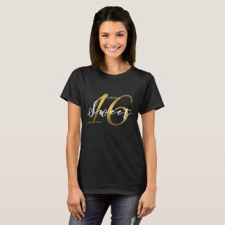 Camiseta Regalo de cumpleaños conocido de la tipografía del