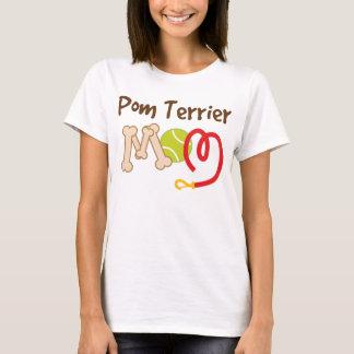 Camiseta Regalo de la mamá de la raza del perro de Pom