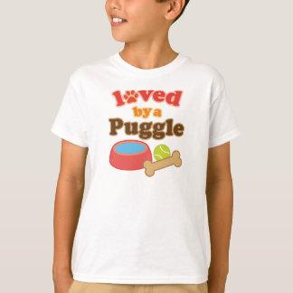 Camiseta Regalo de la raza del perro de Puggle