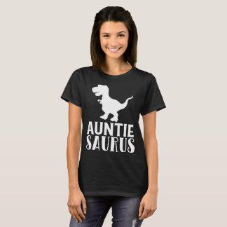 Camiseta Regalo de tía Saurus Matching Dinosaur Family para