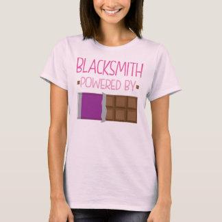Camiseta Regalo del chocolate del herrero para la mujer