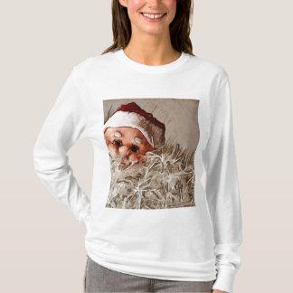 Camiseta Regalo del navidad con Papá Noel