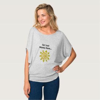 Camiseta Regalo femenino de la dama de honor del verano de