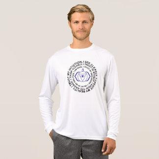 Camiseta Regalo fresco del mantra de Ajna Chakra del tercer