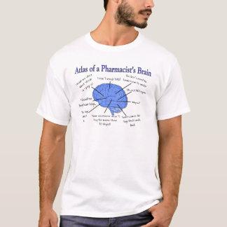 Camiseta Regalos del cerebro del farmacéutico divertido