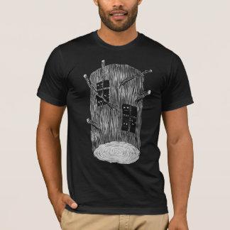 Camiseta Registro del árbol con las criaturas misteriosas