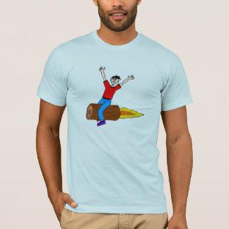 Camiseta registro del cohete