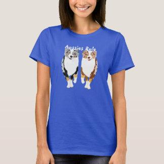 Camiseta Regla australiana de los pastores