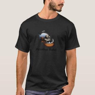 Camiseta ¡Regla de las pirañas!