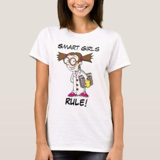 Camiseta Regla elegante de los chicas