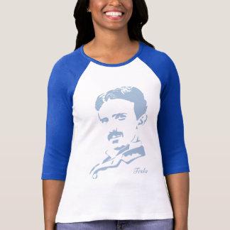 Camiseta ¡Reglas de Nikola Tesla! Azules cielos