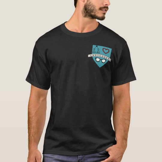 Camiseta regular de LadyCoders S