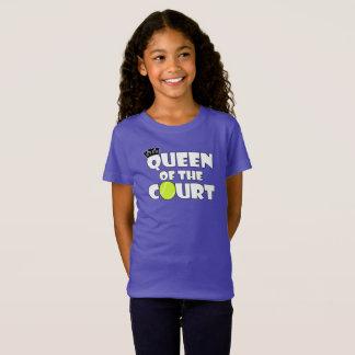 Camiseta Reina del tenis de los chicas del jugador de tenis