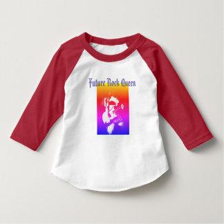 Camiseta Reina futura de la roca