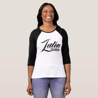 Camiseta Reina latina