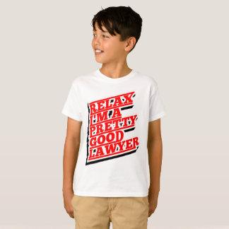 Camiseta Relájeme son un buen abogado bonito