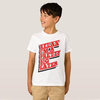 Camiseta Relájeme son un comedor grande bonito