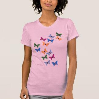 Camiseta Remolino de la mariposa