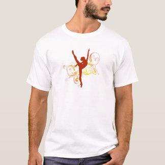 Camiseta Remolinos elegantes de la bailarina